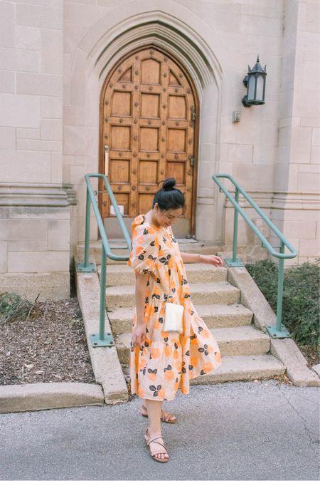 Tiered midi dress. It would make the perfect Fall wedding guest dress. It fits true to size.   #LTKstyletip #LTKwedding