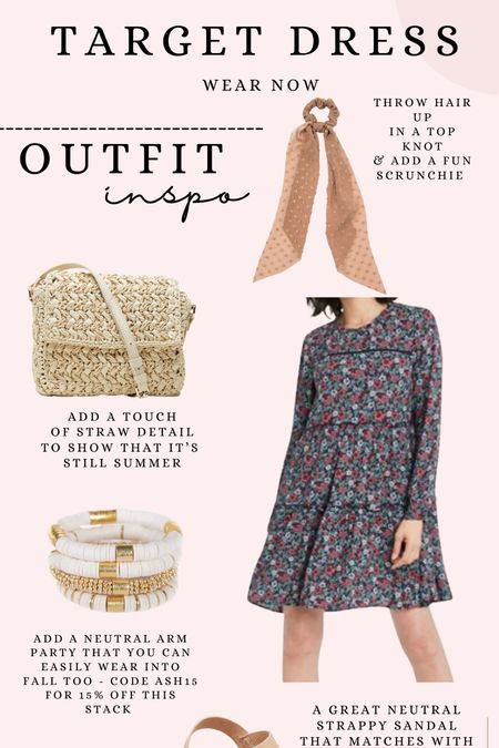 How to wear the $30 Target dress now!
