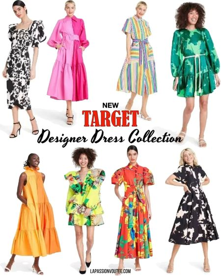 The new Target Designer Dress Collection is available now and selling out fast. Here are the best picks/still available. #LTKunder50  #LTKstyletip #LTKsalealert #LTKunder100