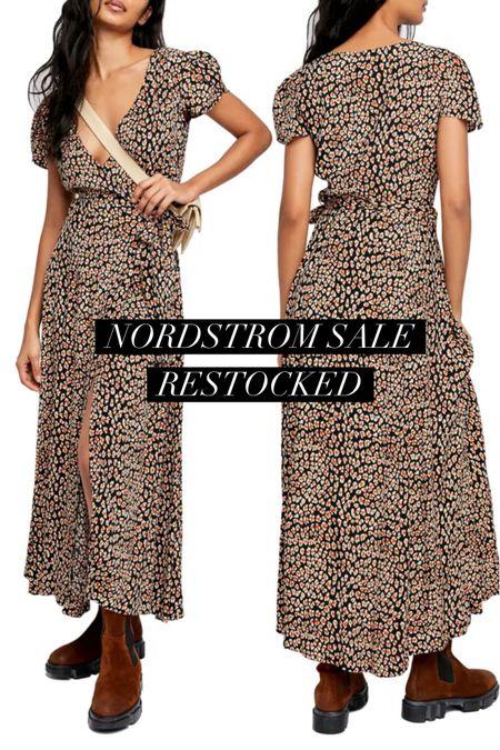 How pretty is this Free People NSale dress? Nordstrom   #LTKunder100 #LTKstyletip #LTKsalealert