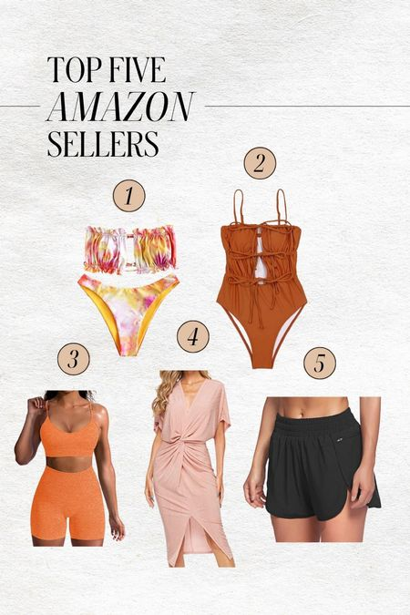 Top amazon sellers on my page in the last week! Couldn't recommend them more!   Bikinis / Workout set / Wedding guest dress / and workout shorts    #LTKwedding #LTKfit #LTKswim