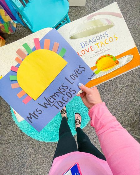THERE ARE ONLY 9 DAYS LEFT IN THIS SCHOOL YEAR 😱 I seriously cannot believe it! It's been such a crazy year but one thing is for sure, we've made the absolute best out of it 💙 And definitely have had lots of fun! For example, one of our very favorite books is Dragons Love Tacos 🌮 We read it (again) the other day and made this super fun & free craft 💛🌮 Highly recommend! Add this book to your classroom library by shopping it here in the @liketoknow.it app 👉🏻 http://liketk.it/3fv5S  • • •  #liketkit #LTKkids #LTKworkwear #teacherthings #childrensbooks #classroomlibrary #dragonslovetacos #elementarycrafts #elementaryteacher #instateacher #finemotorcrafts #finemotorskills #specialeducation #teacherspayteachers #tpt #tptfreebie #teacherblogger