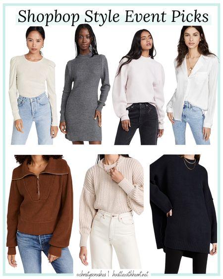 Shopbop style event sale picks   #LTKsalealert #LTKstyletip #LTKunder100
