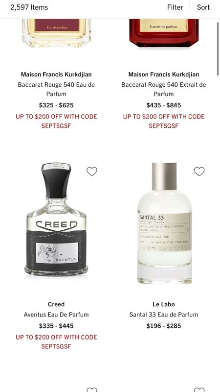 Last day to get up up to $200 off at Saks! This is a great time to get that new Fall Fragrance that you have been wanting to try! I've linked some of my top picks!  #LTKsalealert #LTKbeauty