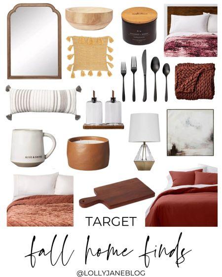 Target Fall home finds!!  Lilly Jane Blog | #LollyJaneBlog   #LTKunder100 #LTKhome #LTKunder50
