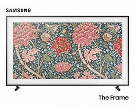 """For the last year I have dedicated my Costco Citi rewards to purchase a 55"""" Samsung Frame Tv. I have had this TV and Bezel sitting in my eBay cart and watching the price fluctuate over the last few months. #LTKhome This is the LOWEST I have seen it (a week before Super Bowl at $969!!!!  http://liketk.it/2JyMj #liketkit @liketoknow.it"""