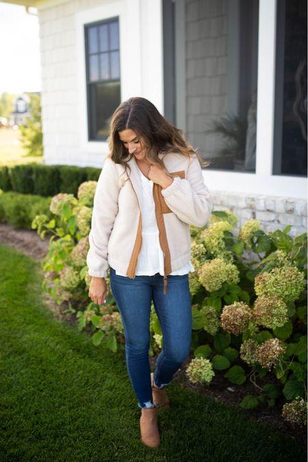 Thus $32 fleece jacket from Walmart is perfect for fall  #LTKunder100 #LTKunder50 #LTKstyletip