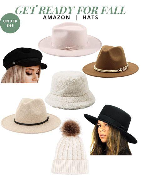 Hats for Fall on Amazon   #LTKSeasonal #LTKunder50 #LTKstyletip