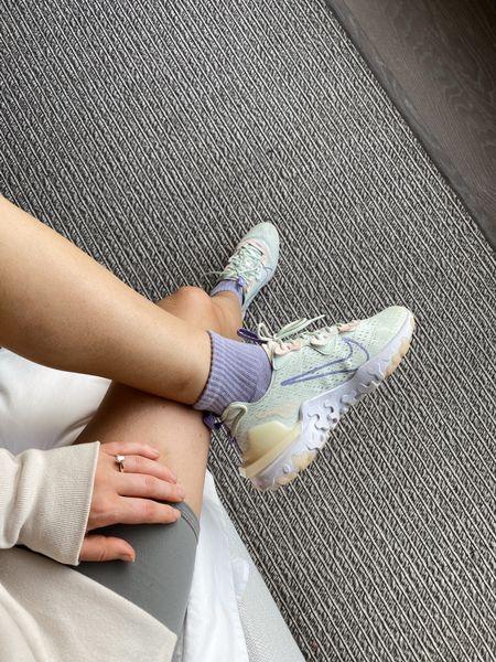 Nike vision react sneakers - fit true to size   #LTKfit #LTKshoecrush