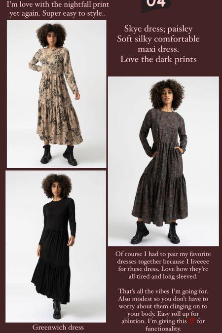 Perfect autumn/winter dresses to layer on.   #LTKunder50 #LTKeurope #LTKstyletip