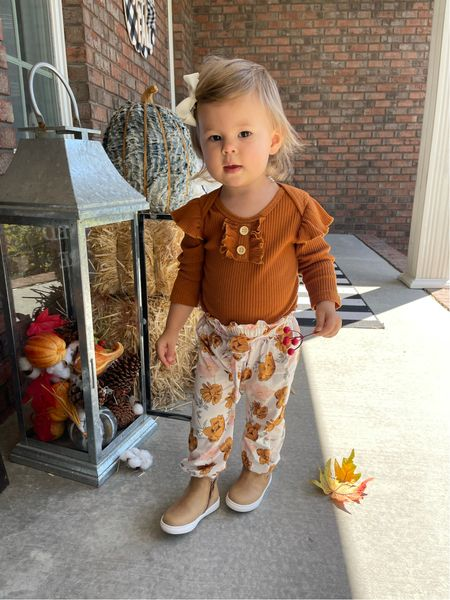 Toddler Fall Girl Outfit