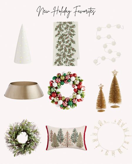 Holiday favorites, Christmas, holiday season, home decor, decorations, wreath, table runner, Christmas trees, pillow, garland   Follow me for more ideas and sales.   Double tap this post to save it for later    #LTKHoliday #LTKhome #LTKSeasonal