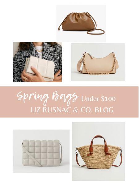 Spring Bags under $100  #LTKSeasonal #LTKunder100 #LTKitbag