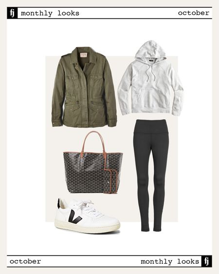 October fall outfit idea #falloutfits  #LTKunder100 #LTKfit #LTKstyletip