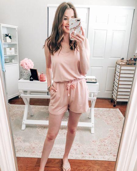 Amazon pink romper on sale for prime day wearing Xs http://liketk.it/3i6lS #liketkit @liketoknow.it  Amazon deals Prime deals Amazon prime day Amazon rompers Amazon fashion Amazon outfit Amazon finds