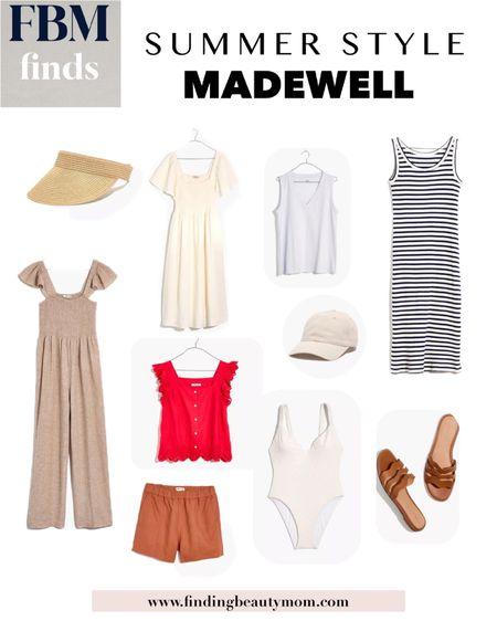 Madewell outfits, ltkday, summer outfits, shorts, sandals, jumpsuits,linen http://liketk.it/3hlP2 #liketkit @liketoknow.it finding beauty mom, mom uniforms #LTKDay #LTKunder100 #LTKsalealert