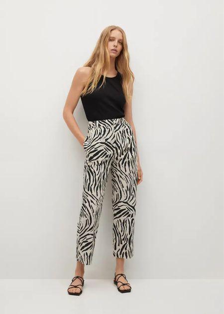 Printed pants are 😍😍😍  #LTKunder100 #LTKstyletip