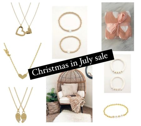 The styled collection Christmas in July sale