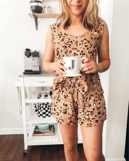 Leopard loungewear, leopard pajamas, pjs, coffee cart, kitchen cart, nespresso, cookbook, home items, latte bowls, teapot, wine rack, shelf, fuzzy slippers http://liketk.it/2Nxzv #liketkit @liketoknow.it