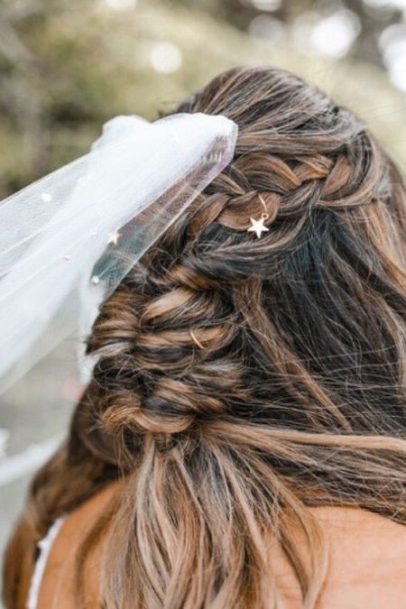 Wedding veil and hair charms   http://liketk.it/3hJZO #liketkit @liketoknow.it @liketoknow.it.brasil @liketoknow.it.europe @liketoknow.it.home @liketoknow.it.family #LTKwedding #LTKunder50 #LTKstyletip