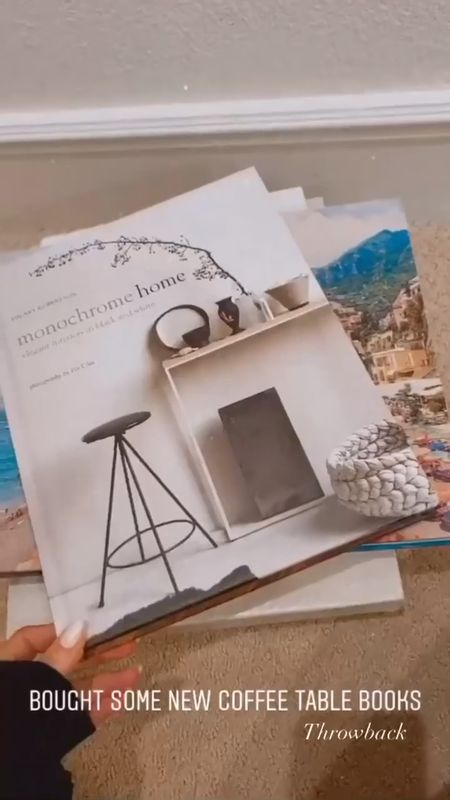 Coffee table books, coffee table accessories, amazon books, StylinAylinHome   #LTKunder100 #LTKstyletip #LTKhome
