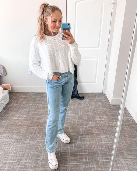 men's jeans from walmart size 29x30! sweater and tank both size small:) #LTKspringsale #sale #springsale #denim #LTKSeasonal #competition #springoutfit #amazonfinds #easter #smallfashionblogger #fashionblogger http://liketk.it/3b2zM #liketkit @liketoknow.it