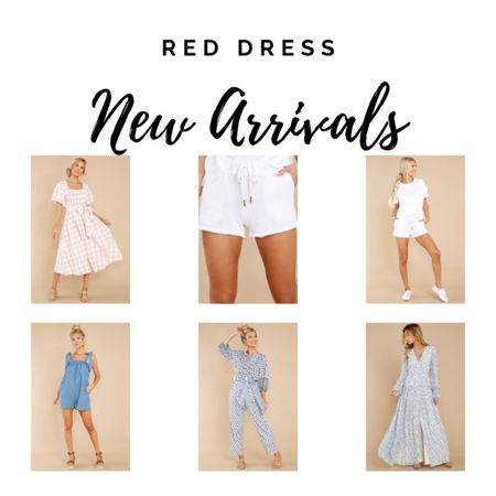 Summer dresses, gingham, outfits for going out, petite fashion http://liketk.it/3iZzJ #liketkit @liketoknow.it #LTKunder100 #LTKtravel #LTKfit