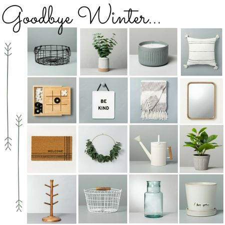 Done with winter and looking forward to spring? Check out my favorites from Hearth and Hand's new home decor launch   Screenshot or 'like' this pic to shop the product details from the LIKEtoKNOW.it app, available now from the App Store!    http://liketk.it/34L8M @liketoknow.it #liketkit #LTKNewYear #LTKunder50 #LTKhome