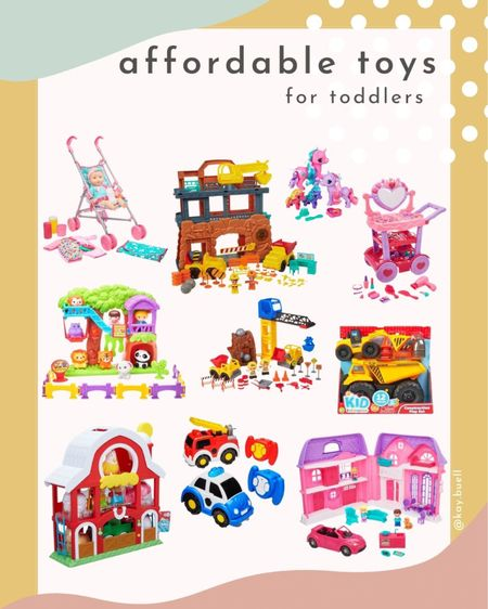 Affordable gift guide for toddlers! Some great toddler toys at great prices!   #LTKkids #LTKGiftGuide #LTKHoliday