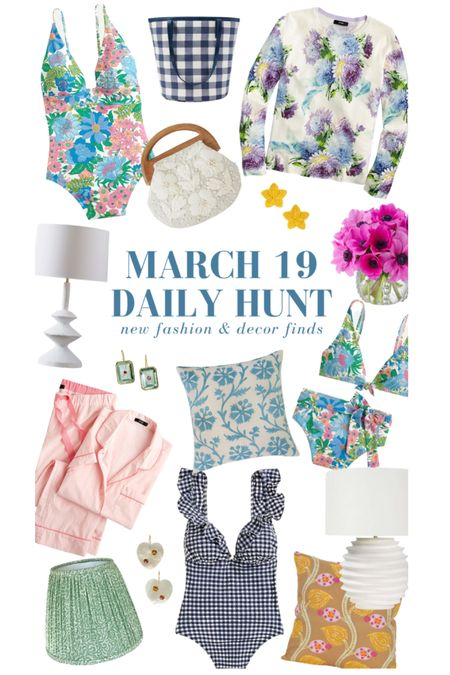 A selection of my March 19 finds! Shop many more on the Daily Hunt page of KatieConsiders.com @liketoknow.it #liketkit http://liketk.it/3aQiV