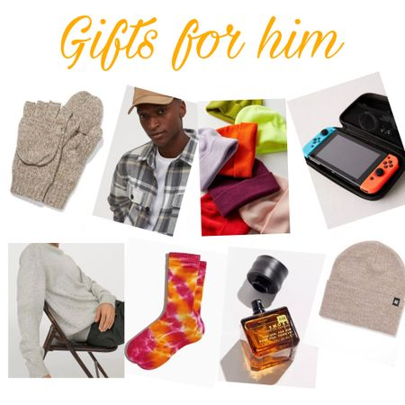 Gifts for him! Tried to incorporate budget friendly and an array of options. These are mainly just for inspiration ☺️ http://liketk.it/31mAd #liketkit @liketoknow.it