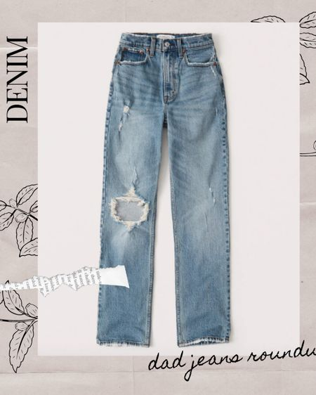 Fall Season is here! And one of my favorite trends has been the infamous DAD JEAN! Here's a round up of the best dad style jeans from Abercrombie, H&M, Madewell and more! http://liketk.it/2WQhO #liketkit @liketoknow.it  #denimjeans #dadjean #momjean #fallstyles