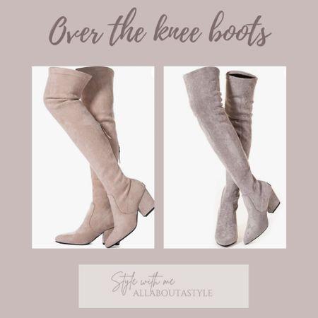 Over the Knee Boots   #LTKHoliday #LTKSeasonal #LTKstyletip
