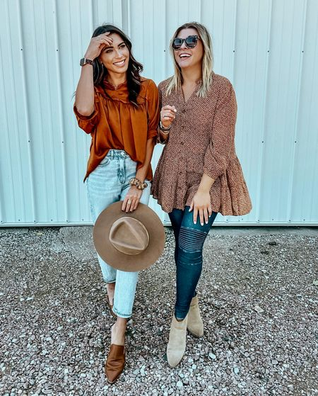 Fall tops from Versona. Don't forget to stop in for their grand re opening! They are giving away 10-$50 gift cards and a $250 gift card!   #LTKstyletip #LTKunder50 #LTKworkwear