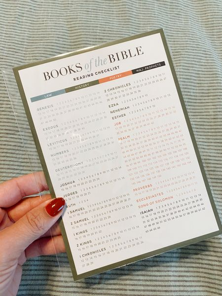 This is a great tool for the books of the Bible info!   #LTKbacktoschool #LTKfamily #LTKunder50