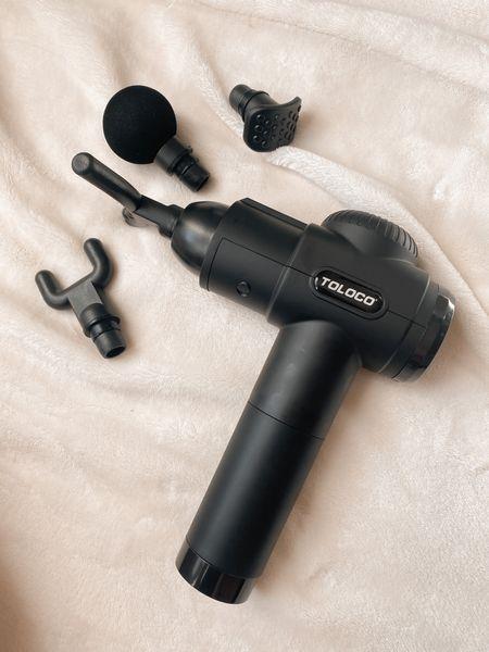 Massage Gun - amazing for at home massages, post workout soreness, etc!  #LTKunder100 #LTKfit