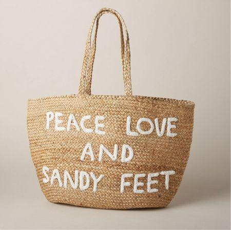 Love this beach bag  #LTKSeasonal