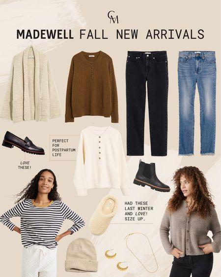 Madewell fall new arrivals    #LTKSeasonal #LTKshoecrush