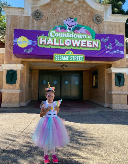 Milan wore this adorable unicorn costume to Seaworld! Comes with headband, dress and wings