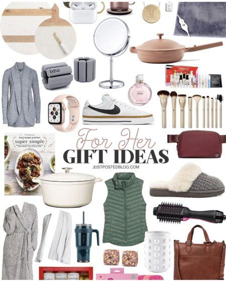 Christmas gift ideas for her!   Gift guide Christmas  Women's   #LTKHoliday #LTKGiftGuide #LTKSeasonal