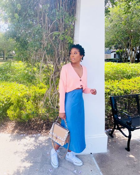 Cotton Candy colors for Florida Sunny Days & the bra tuck for the perfect crop!!!  🌸SHOP MY LOOK NOW🌸 1. Download the free @liketoknow.it app 2. Search and Follow my #liketkit profile  3. Use the below link to click and shop away   http://liketk.it/3cRFZ   #LTKsalealert #LTKstyletip