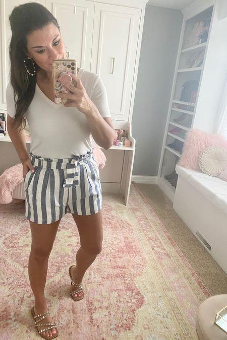 Striped shorts for summer http://liketk.it/39Y7j #liketkit @liketoknow.it
