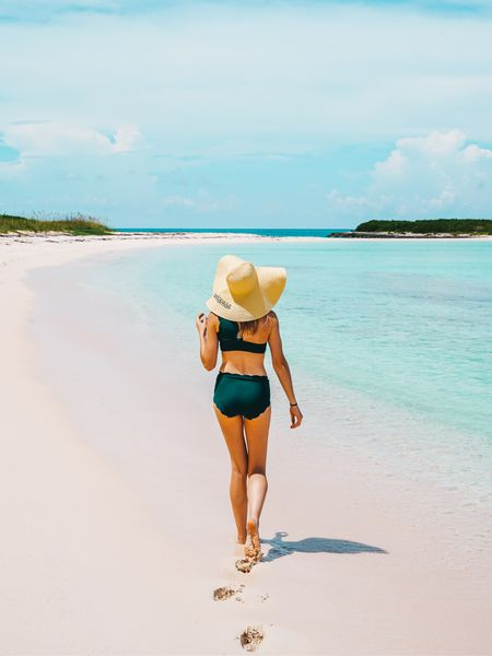 We're walking toward wintertime but I'm wishing I was walking toward the beach! Here are some cute, inexpensive pieces for your winter beach vacay. 👙 I'll just be over here.... jealous! http://liketk.it/2Guyj #liketkit @liketoknow.it #LTKunder50 #LTKtravel #LTKswim