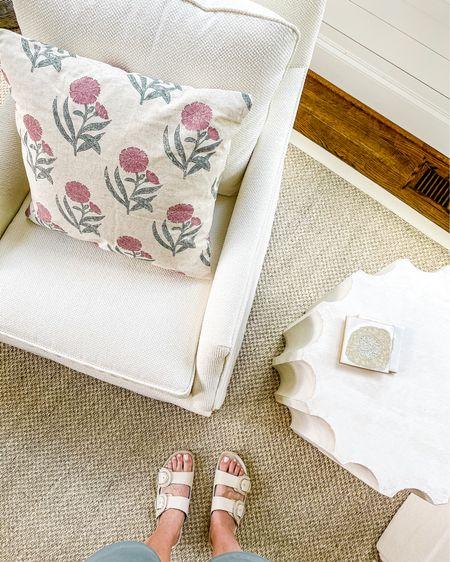 Studio McGee summer collection throw pillow 🌸   #LTKhome #LTKunder50 #LTKunder100
