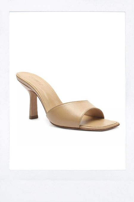 Simple mule sandal.   #LTKshoecrush