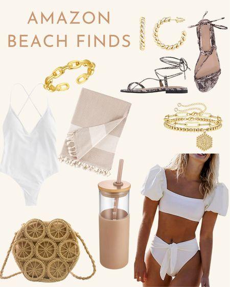 Amazon beach finds, Amazon fashion, Amazon swimsuit, swimsuit, sandals, Amazon fashion finds, Amazon swim    #amazonfashion #amazonfinds #amazonswim #amazonsummer #swimsuit #sandals #ltksummer   #LTKswim #LTKtravel #LTKunder50