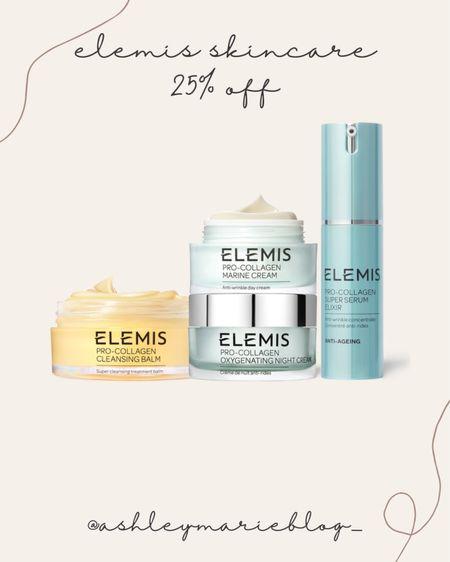Elemis skincare on sale right now! Skincare for fine lines and wrinkles.   #LTKsalealert #LTKHoliday #LTKSale