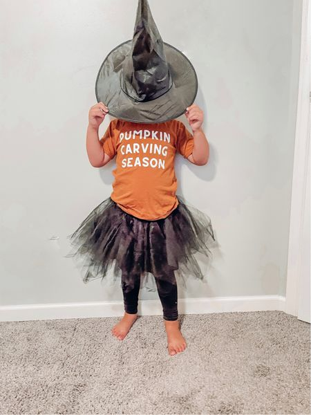 Pumpkin carving szn. 🎃  Pulled together my fave cute little girl Halloween tees for you here. Because I'm batty about them. 🦇 Pun intended.     #LTKkids #LTKfamily #LTKSeasonal