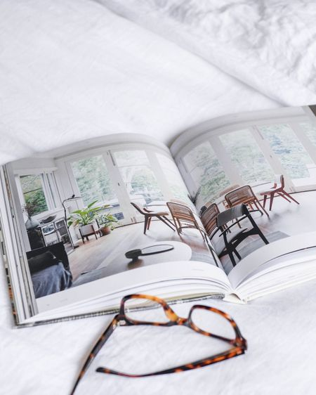 Diving in deep into some beautiful design books for project inspo tonight. What are some of your favorites of the moment?   PS: You can shop your screenshot of this pic with the LIKEtoKNOW.it shopping app 👏🏻  #simpleinteriors #interiordesign #books #neutralinteriors #linen #linenbedding http://liketk.it/35fCr #liketkit @liketoknow.it #LTKstyletip #LTKunder100 #StayHomeWithLTK @liketoknow.it.home @liketoknow.it.family  s