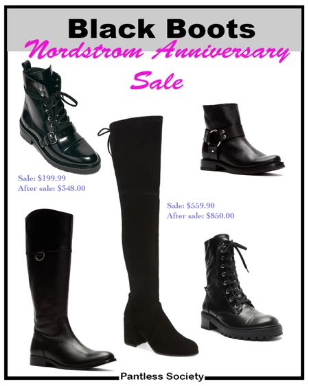 Nordstrom Anniversary Sale. Black boots. Shoe sale. Outfit crush. Shoe crush. Shoe haul. #Nsale Nsale. Follow me on the LIKEtoKNOW.it shopping app for Exclusive content and daily deals.  #LTKsalealert #LTKshoecrush #LTKstyletip
